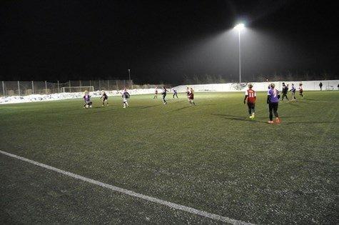 150 fodboldpiger på besøg til fodboldweekend