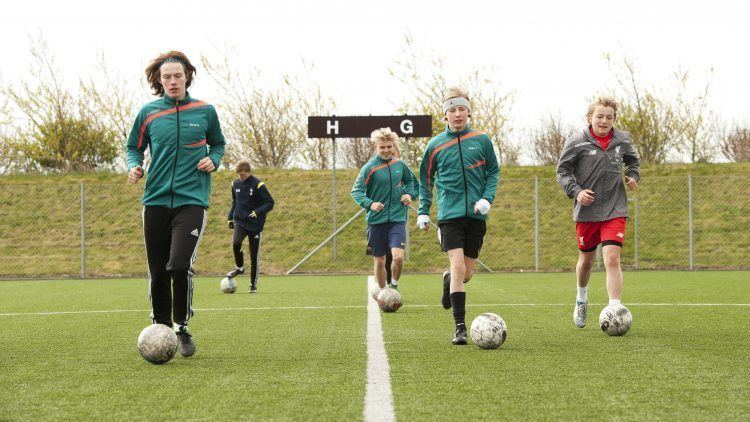 Fodboldlinje på efterskole