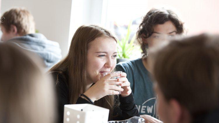 Frokostpause med Lyngs Idrætsefterskole