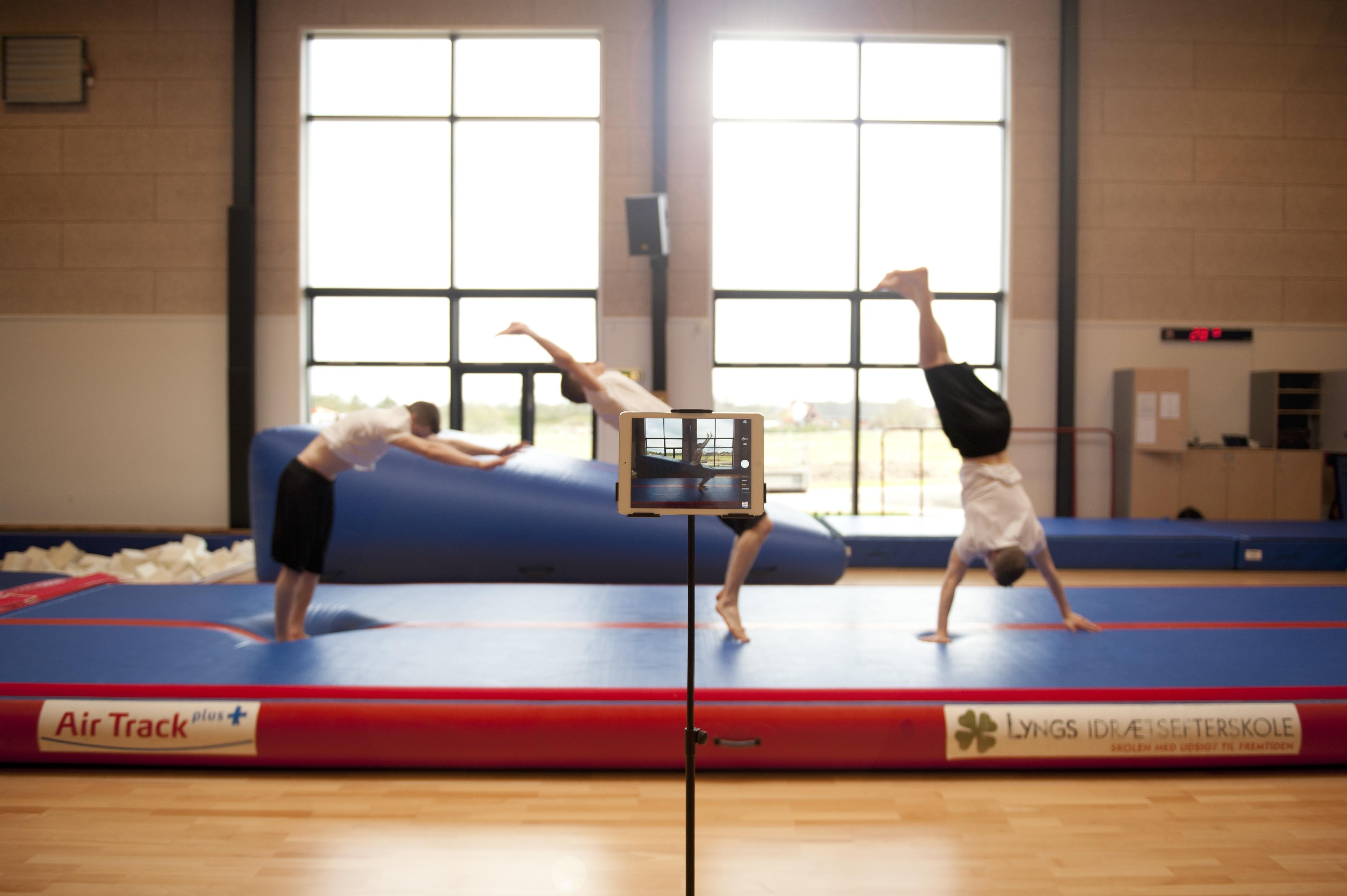Gymnastik og Spring på Lyngs