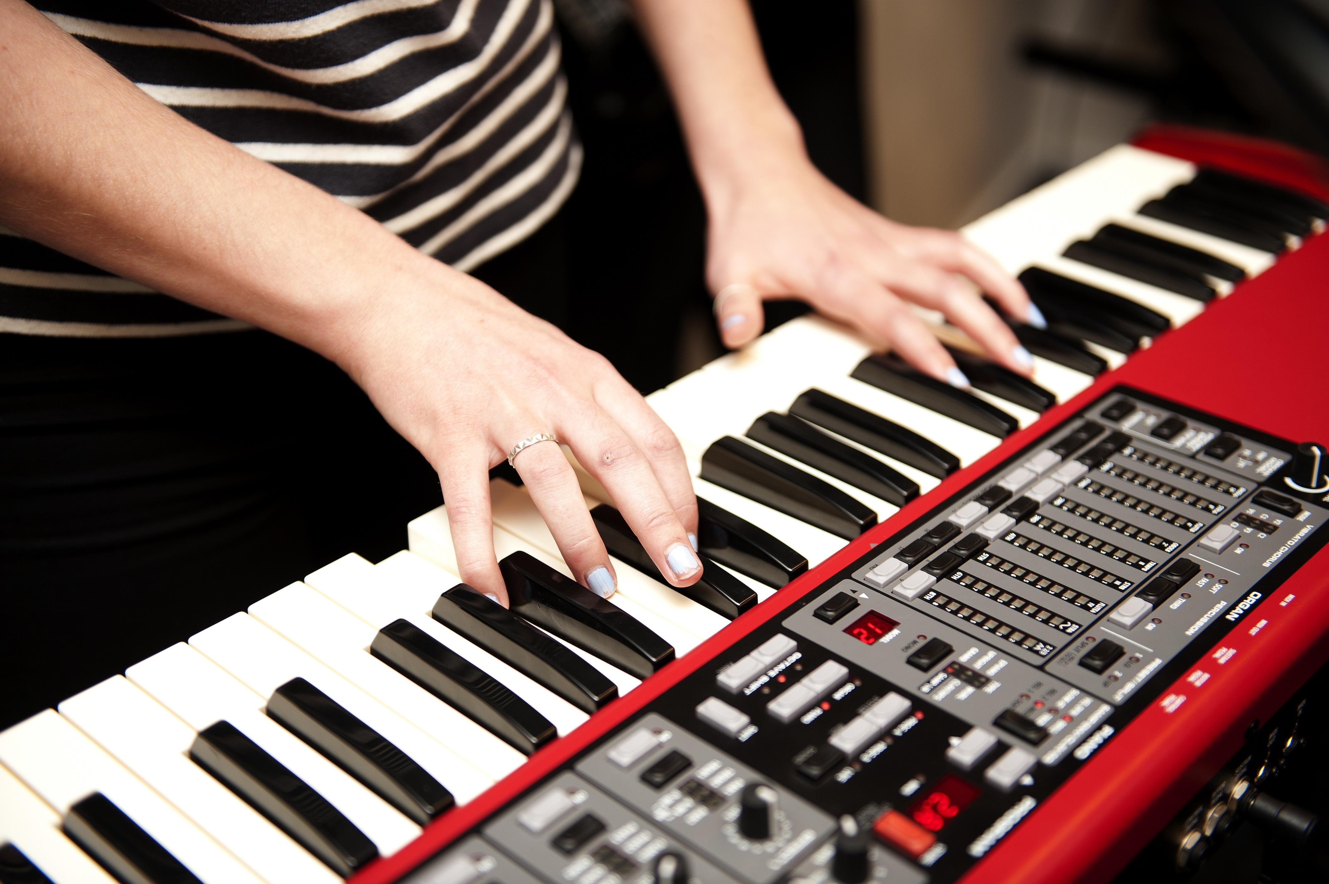 Musik på Lyngs Idræstefterskole