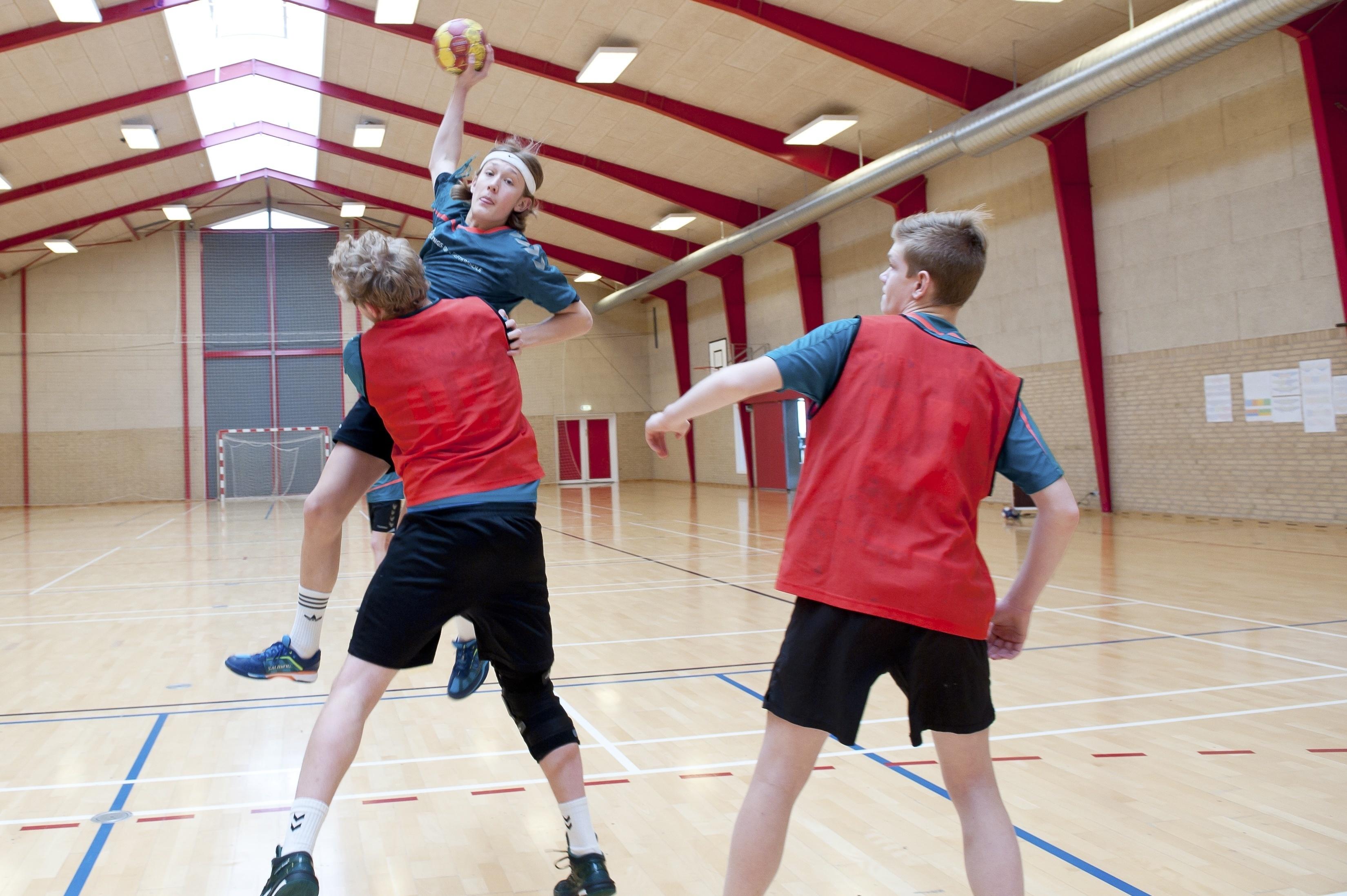 Håndboldlinje på efterskole